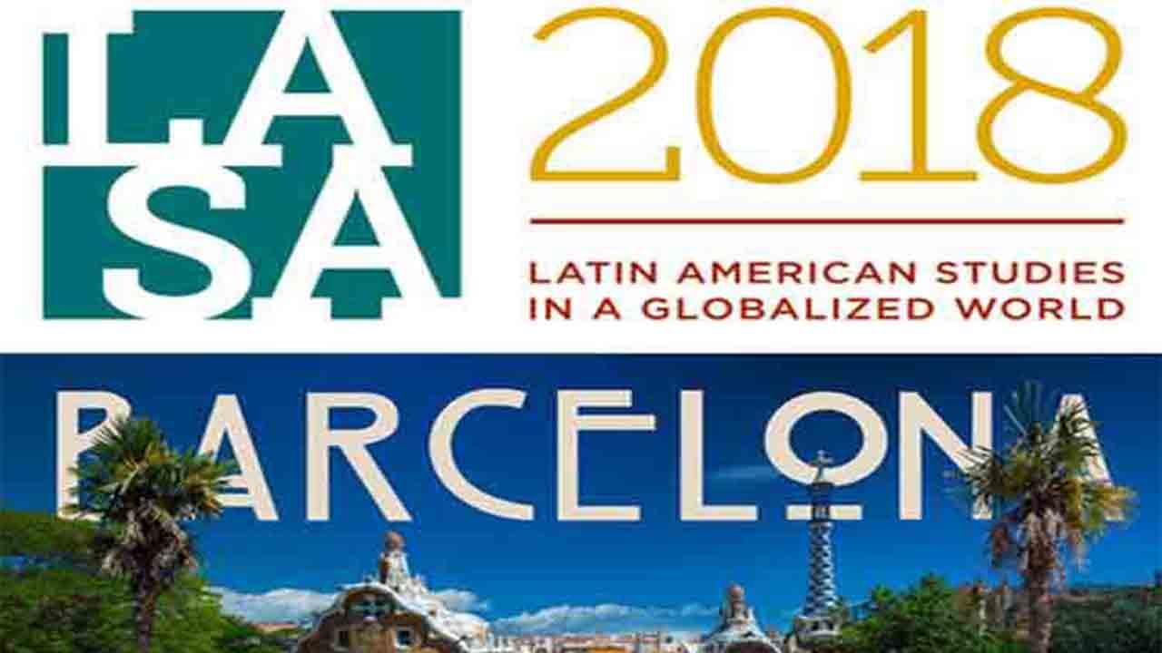 Congress LATIN AMERICAN STUDIES ASSOCIATION 2018