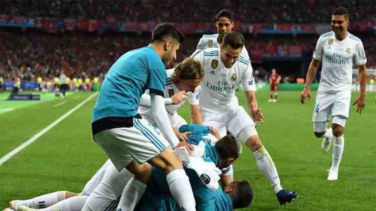 El Real Madrid vence al Liverpool en la final de la Champions