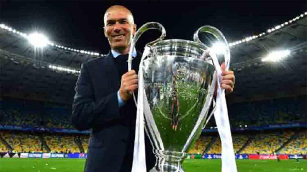 Zidane deja el Real Madrid después del tercer título