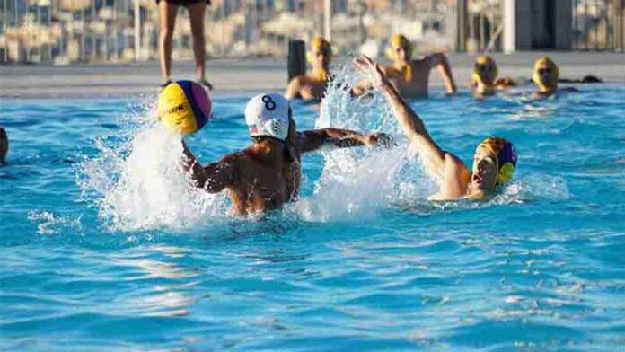 Barcelona, intensivo entrenamiento de Waterpolo