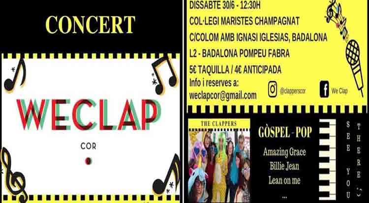 Llegan los CLAPPERS DE Weclap Cor