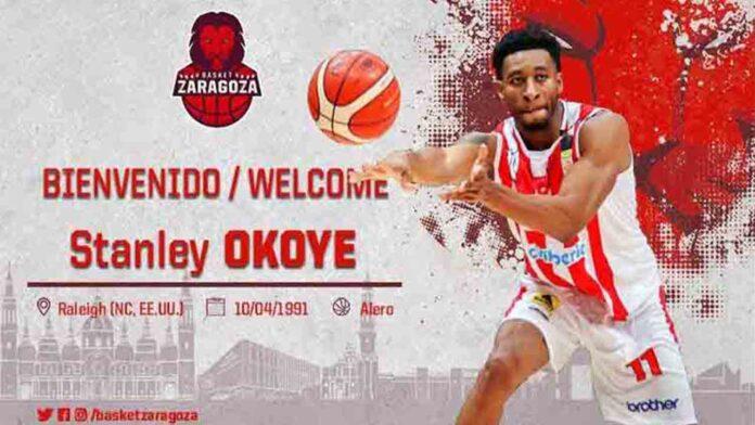 El Tecnyconta Zaragoza ficha al nigeriano Stan Okoye procedente del Varese