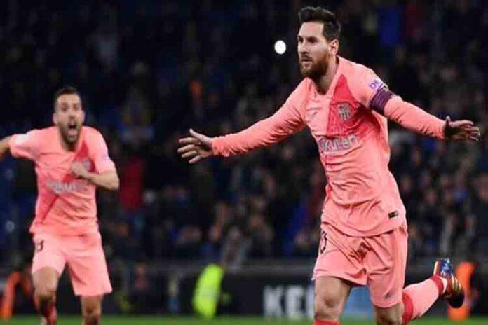 El Barcelona golea al Espanyol en Cornellà