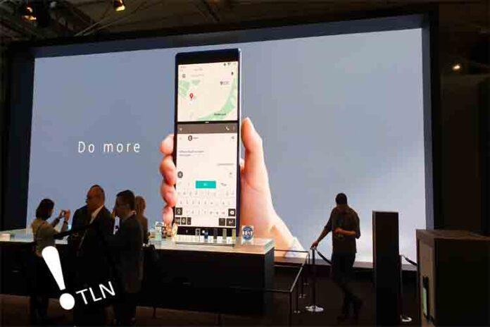 Presentación del Sony Xperia 1 en el MWC