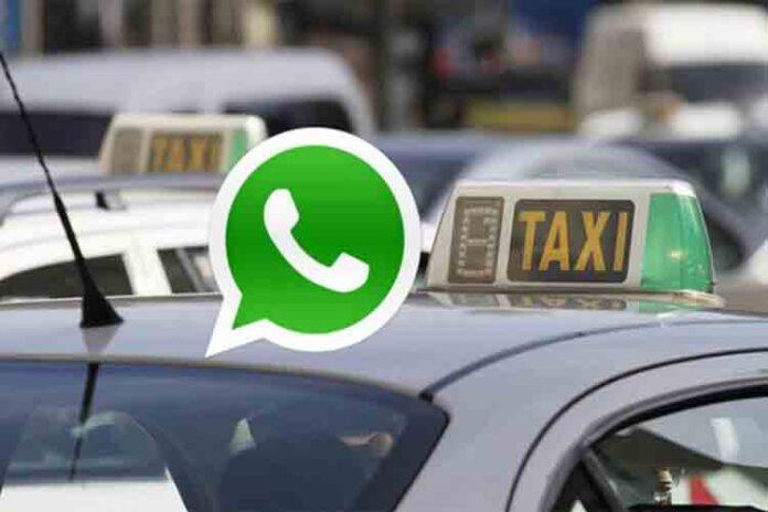 Ahora puedes pedir un taxi por Whatsapp