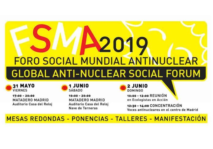 Foro Mundial Antinuclear 2019