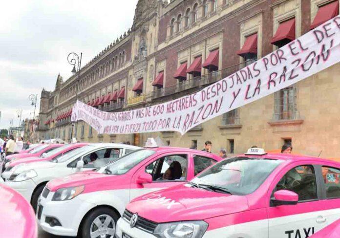 El Taxi de Ciudad de Mexico contra Uber y Cabify