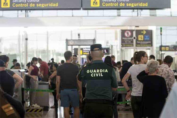 Intervienen más de 500.000 euros en el aeropuerto de Barcelona