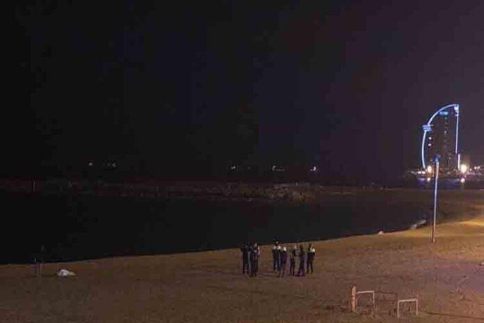 2 detenidos por violar a una mujer en la playa de Somorrostro
