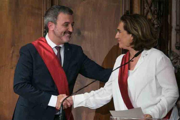 Como se reparte el ayuntamiento de Barcelona