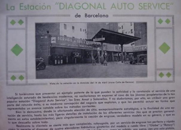 Cierra la histórica gasolinera de Diagonal con Girona