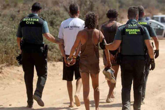 73 detenidos en una fiesta ilegal en Ibiza