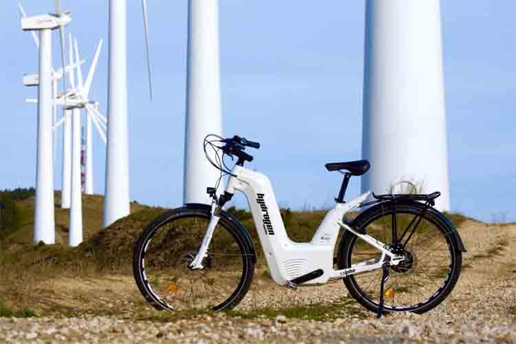 Llega la primera bicicleta eléctrica de hidrógeno