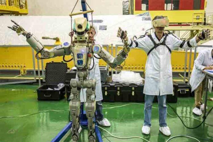 Rusia acaba de enviar este espeluznante robot al espacio