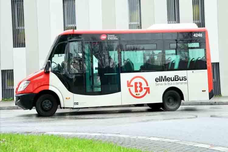 23.000 pasajeros en 6 meses en el bus en demanda de Torre Baró