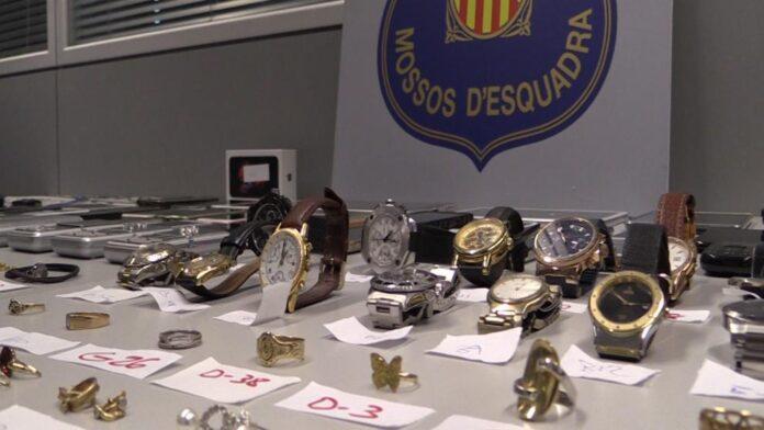 165 detenciones por robos violentos en Barcelona en lo que va de año