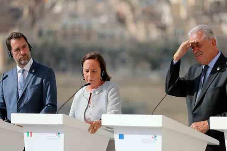 Alemania, Francia y Malta firman un acuerdo con Italia para los migrantes