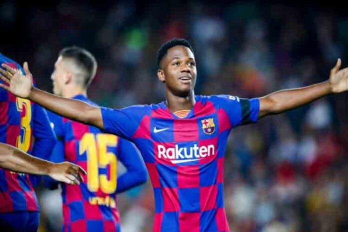 Ansu Fati está siendo considerado para la selección española