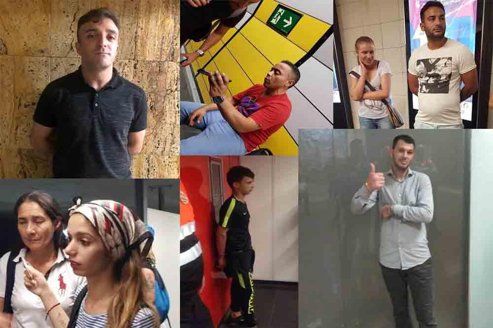 Conoce a los carterístas del metro de Barcelona
