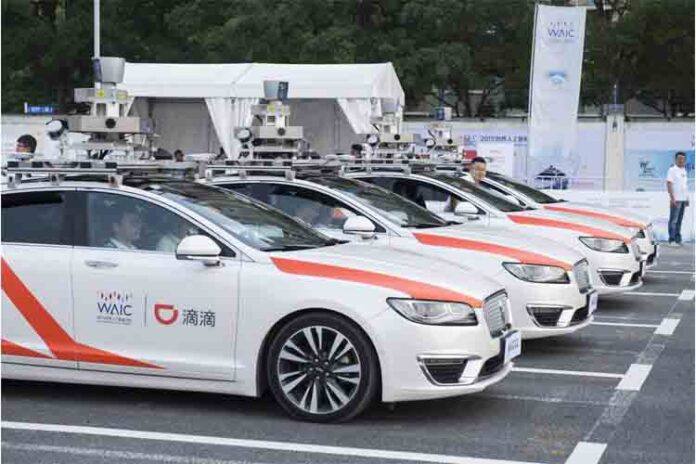 Didi planea lanzar un servicio autónomo de robotaxi en Shanghai