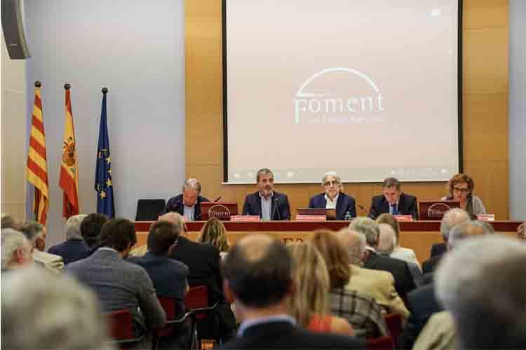 Foment y Ayuntamiento de Barcelona hacen frente común en diversas materias