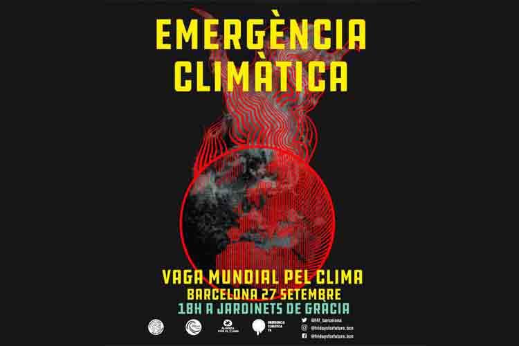 Font d'en Fargues: Huelga Mundial por el Clima 27S