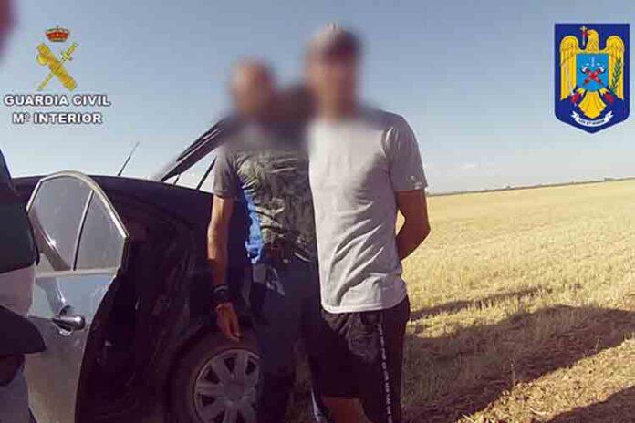 La Guardia Civil detiene a un rumano buscado en su país por asesinato