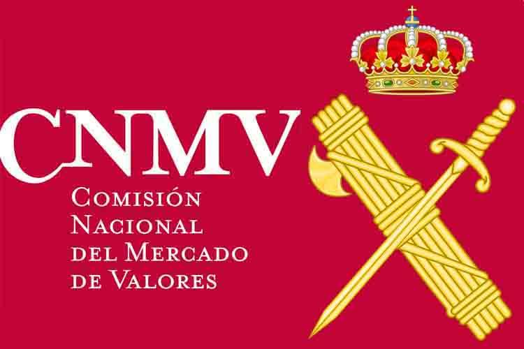 La Guardia Civil y la CNMV firman un convenio contra el fraude financiero
