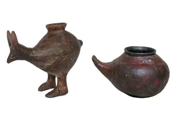 Los primeros europeos usaban biberón con leche animal para los bebés