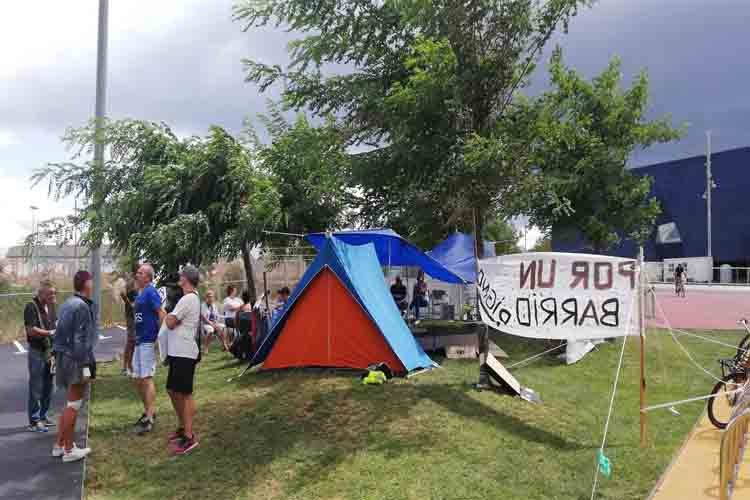 Nuevas protestas en El Besòs por la instalación de un centro para menas