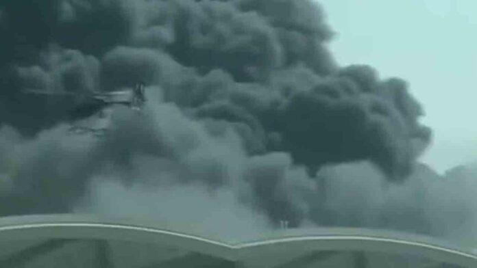 Once heridos por un incendio en la estación del AVE en Jeddah