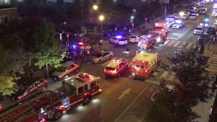 Un muerto y cinco heridos en tiroteo en Washington DC