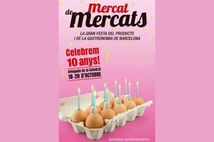 10 años de la Feria Mercat de Mercats en Barcelona