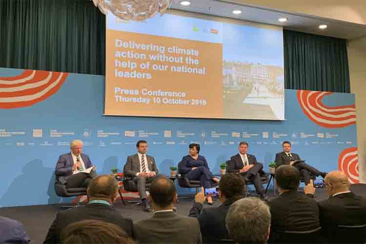 Ada Colau en la cumbre de Copenhague: Plásticos, diesel y limitación de vuelos