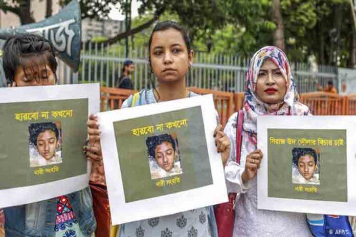 Bangladesh condena a muerte a 16 personas por el asesinato de una estudiante