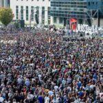 Decenas de miles de personas se manifiestan en solidaridad con Altsasu