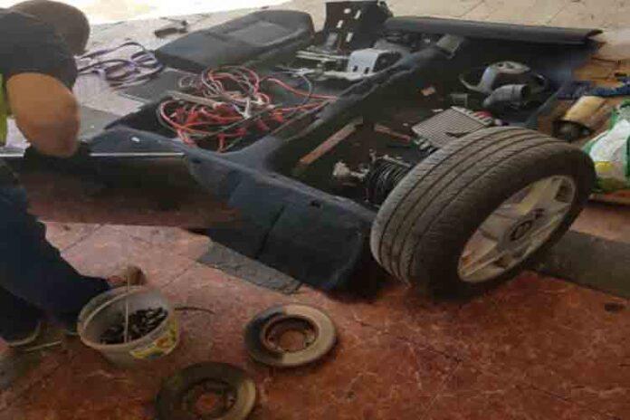 Desarticulado en Madrid un grupo dedicado al robo de vehículos para su despiece