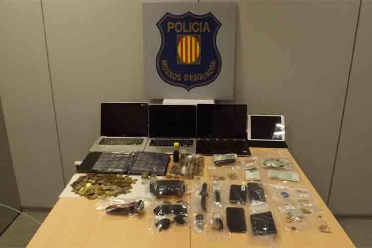 Detenido un grupo que realizaba robos en Sant Cugat del Vallès y Tarragona
