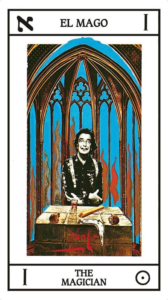 Las espeluznantes cartas de tarot de Salvador Dalí