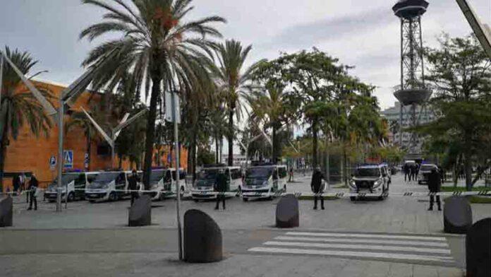 La Guardia Civil protege el puerto de Barcelona