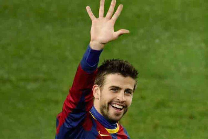 La estrella del Barcelona, Gerard Piqué, revela que le encanta que lo abucheen
