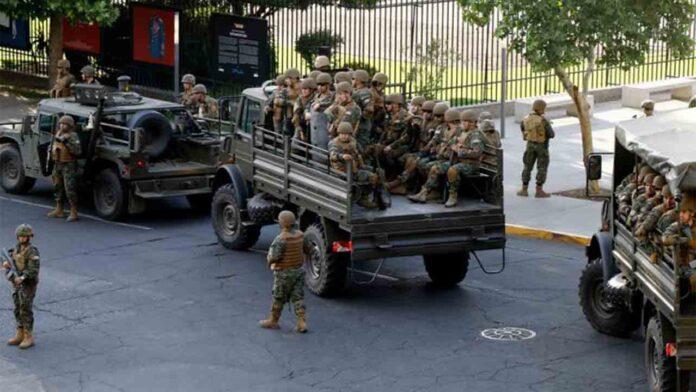 La fiscalía imputa a un soldado en Chile por disparar a un civil en Colina