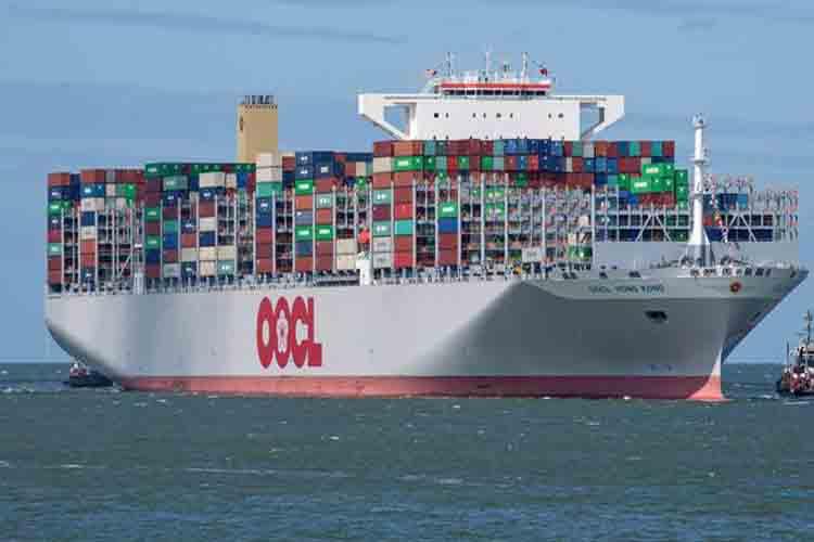 La flota alemana marítima es líder en transporte de contenedores