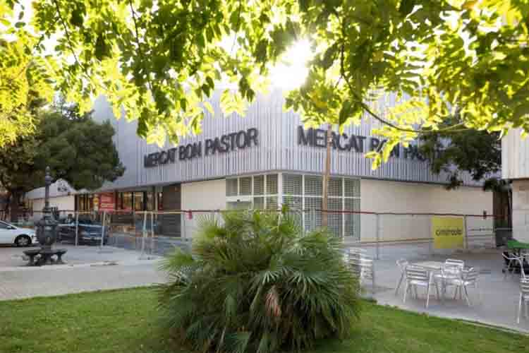 Mañana abre puertas el nuevo mercado del Bon Pastor en Barcelona