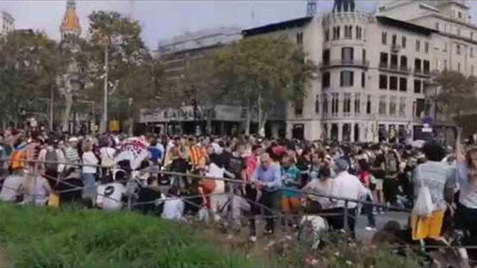 Todas las concentraciones se dirigen a la Plaza de Catalunya