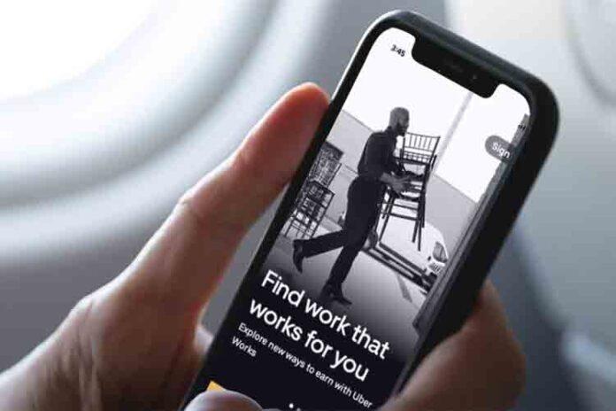 Uber Works es la nueva aplicación para buscar trabajo basura