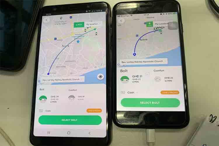 Uber te cobra más si te queda poca batería en el móvil?