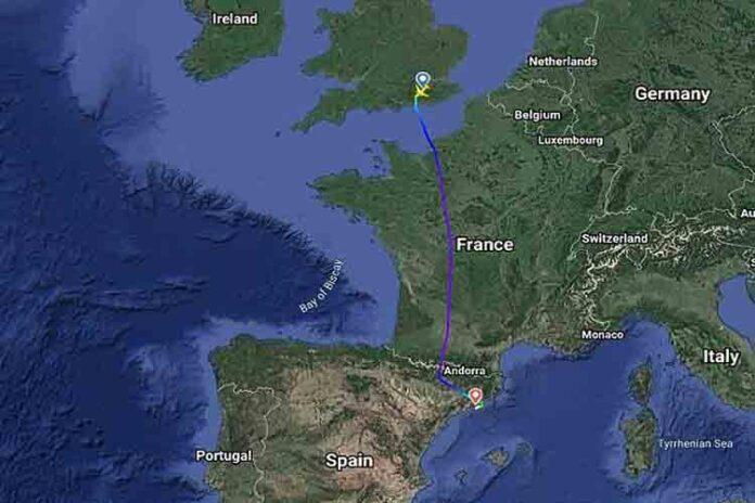 Un avión de British Airways con destino Málaga aterriza de emergencia en Barcelona