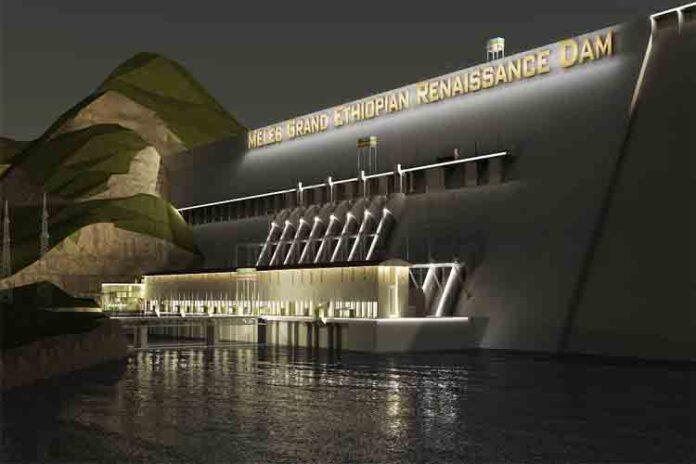 Una presa gigante en construcción en el Nilo enfrenta a Egipto y Etiopía