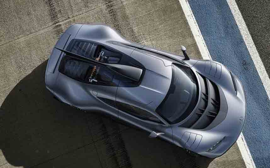 El Mercedes-AMG One Hypercar llegará en 2021